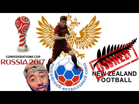 🇷🇺 RUSSIA VS NEW ZEALAND 🇳🇿 2-0 REACTION | FIFA CONFED CUP GROUP A