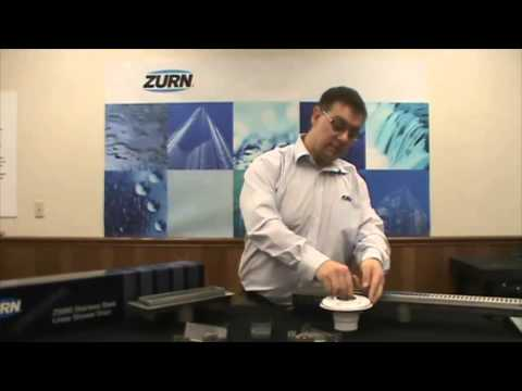 Zurn Trench Drain Systems ZS880 Stainless Steel Shower Drains