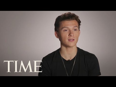 Tom Holland Was Born To Be Spider-Man, Playing Peter Parker Was Another Story | TIME