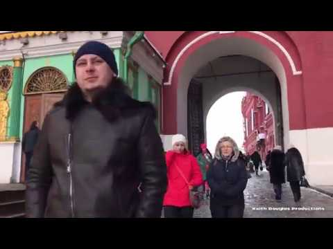 Walk Around: Red Square Russia Moscow Lenin's Tomb Kremlin Saint Basil's Cathedral Cosmos Hotel