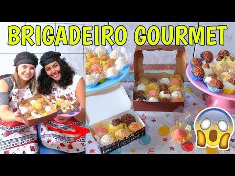 COMO FAZER BRIGADEIRO GOURMET 6 SABORES (GANHANDO DINHEIRO EM CASA) ♥ - Bruna Paula