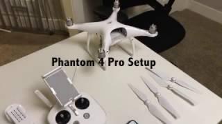 Phantom 4 Pro Setup Tutorial - Watch before you fly! 4K UHD