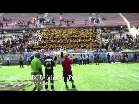 ASU vs BCU 5th Quarter 2012 Pt. 1