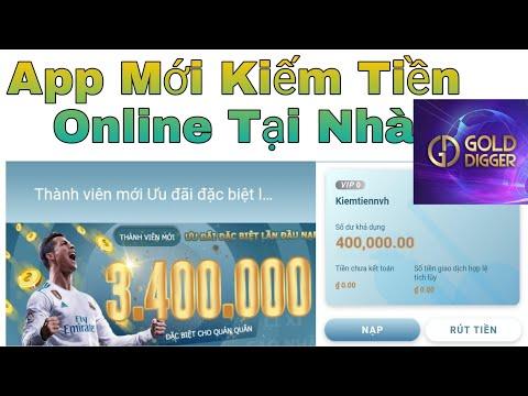 App Mới Đầu Tư Kiếm Tiền Online Tại Nhà Rút Tiền Uy Tín Về ATM / Kiếm Tiền Online - NVH
