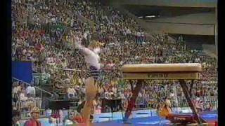 1992 Olympics - Gymnastics Compulsories.. Part 3 - a different perspective.....