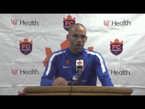 FC Cincinnati vs  Wilmington Hammerheads FC post game press conference