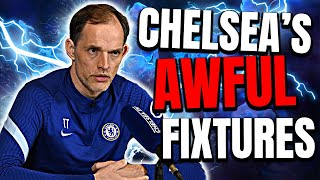 Chelsea News: Tuchel DUMPED With Wretched Fixtures! Can Chelsea Challenge WITHOUT A Striker?
