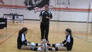 Volleyball Setting Drill Multiple Balls 1