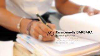 Emmanuelle Barbara, Associé du pôle Droit social d'August Debouzy