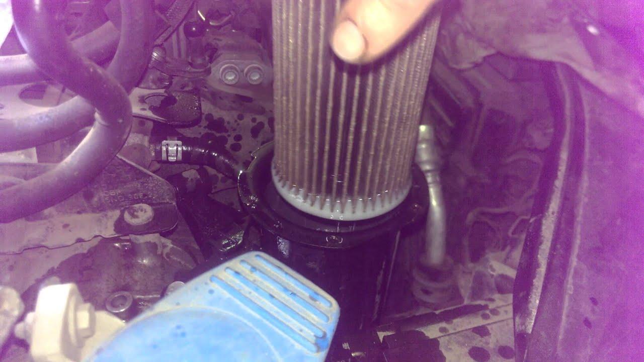 Volkswagen Passat Замена топливного фильтра!