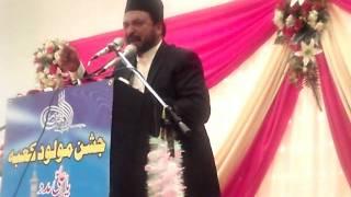 Allama Ali Nasir Al-Hussaini Talhara (Part 1/2) - Jashan-e-Maulood-e-Kaaba - Bradford (UK) 2011