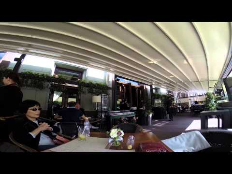 Moscow - Metropole Sidewalk Cafe