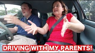 DRIVING WITH MY PARENTS! (MAIN ROADS PART 2)
