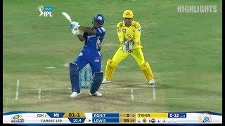 IPL 2018  Match 27 - MI vs CSK - Full Match Highlights  28 April 2018