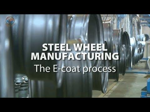 Công nghệ sản xuất mâm bánh xe bằng thép cho xe tải