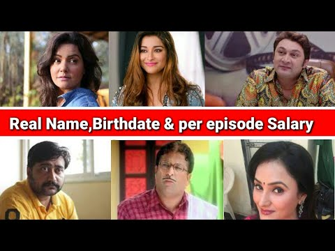 Real name birth date And Per day salary of Excuse me Madam cast Actors। excuse me Madam,Star Bharat।