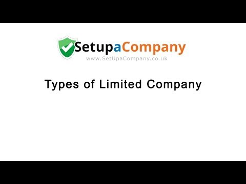 Different Types of Limited Company Explained