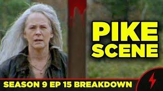 Walking Dead 9x15 Breakdown! PIKE SCENE Explained!