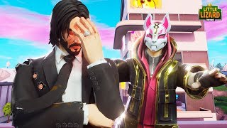 JOHN WICK MADE A MISTAKE... *New Season 9* - Fortnite Short Film