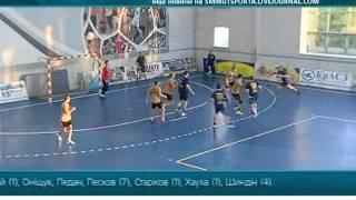 Динамо - Портовик 35:25 (14:13). Гандбол. Суперлига 2011-12, 26 тур