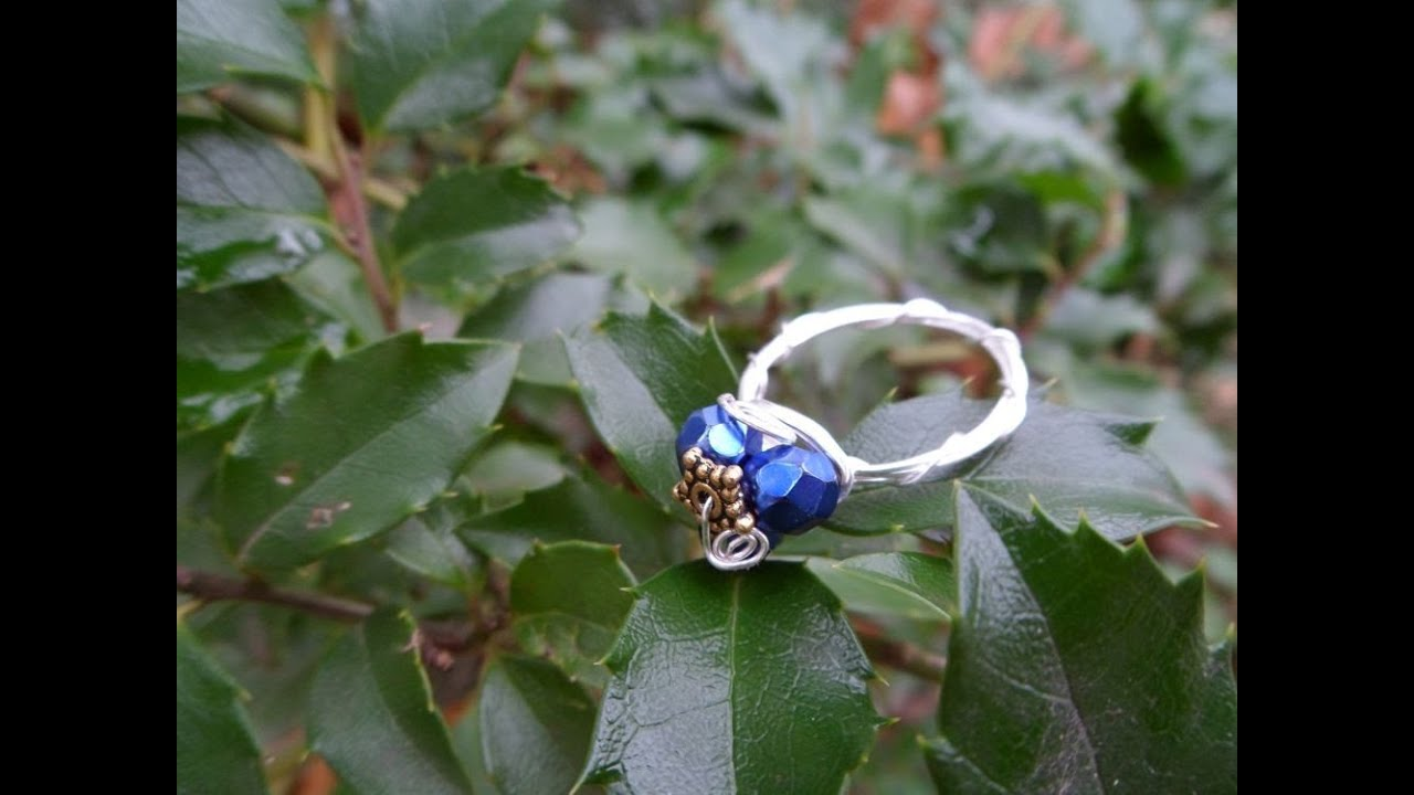 how to make a v ring wire