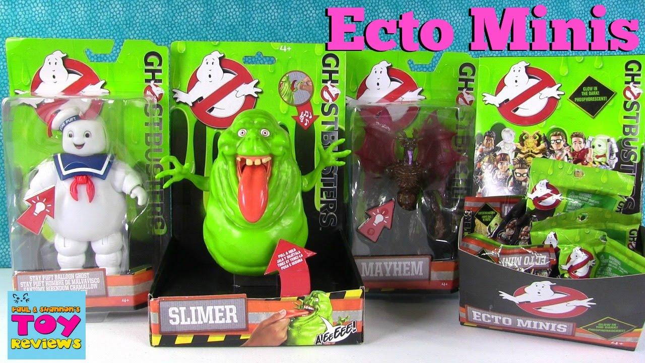 Ghostbusters Movie Ecto Minis Blind Bags Slimer Mayhem