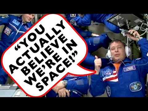 FLAT EARTH: NASA'S NEWEST ASTRO-NOT EXPOSES HOW THEY FAKE SPACE ON THE ISS!