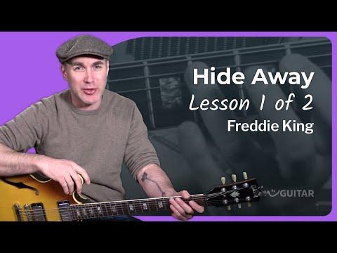 Freddie King - Hide Away Guitar Lesson [1/3] Tutorial Blues How to play Hideaway