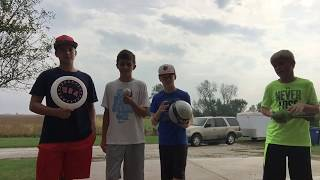 All Sports Golf Battle | M.D. Trick Shots (CRAZY ENDING) OUR FIRST VIDEO!