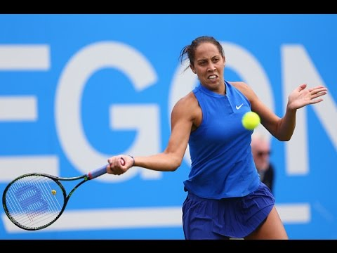 2016 Aegon Classic First Round | Madison Keys vs Timea Babos | WTA Highlights