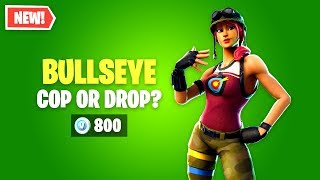 Fortnite BULLSEYE Skin Worth it? Cop or Drop?