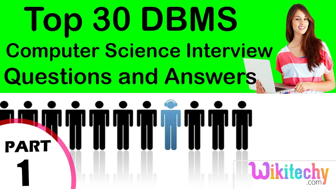 top dbms cse technical interview questions and answers tutorial top 30 dbms cse technical interview questions and answers tutorial for fresher beginners experienced