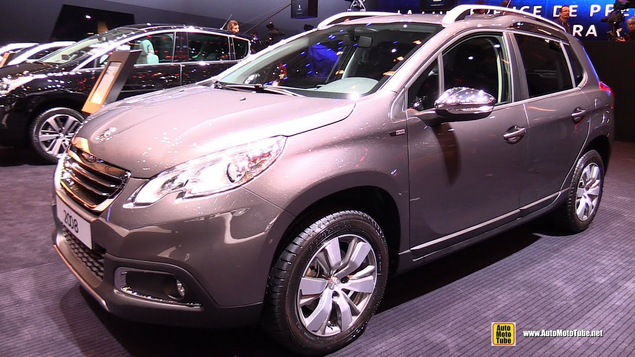 2015 peugeot 2008 style puretech thp 110 s s exterior interior walkaround 2015 geneva motor. Black Bedroom Furniture Sets. Home Design Ideas