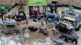 Safari Animals Rescue Adventure Fun Toys For Kids