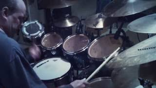 """I missed again"" Phil Collins drum cover by: Mike Strohl"