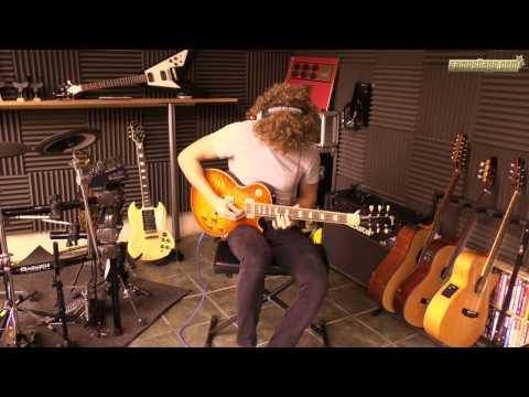 Electric guitar version: Johann Sebastian Bach - Prelude and Fugue No. 5 in D major