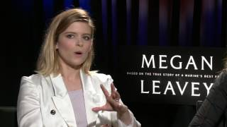 MEGAN LEAVEY Interview With Kate Mara And Director Gabriela Cowperthwaite