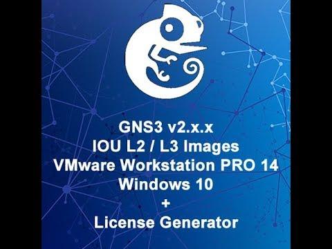 Install GNS3 v2.1.3/v2.1.4 and IOU Images on VMware