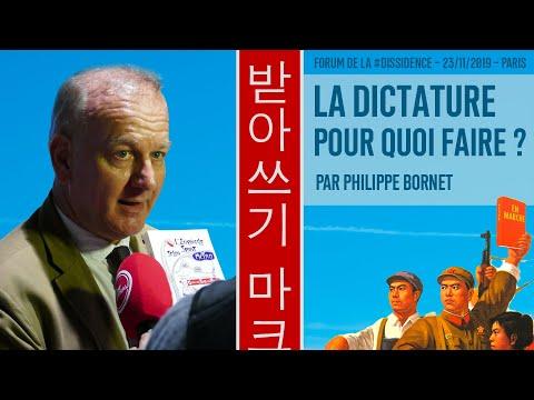 Macron, le représentant d'un système tyrannique - Philippe Bornet au Forum de la Dissidence 2019