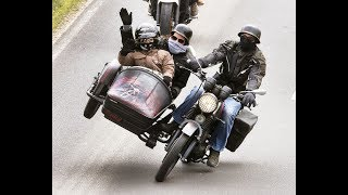 Смотреть со звуком! Сумасшедший гонщик мчится по улицам Европы