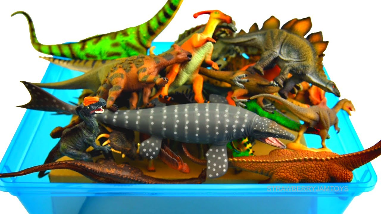 Dinosaurs For Kids - Learn Dinosaurs Names - Mosasaurus T-Rex