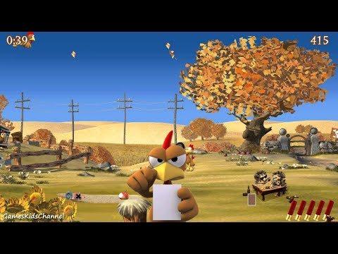 Moorhuhn X / Морхухн - Игра стрелять по курицам