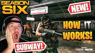 HOW TO USE THE SUBWAY IN WARZONE! *Season 6* (Modern Warfare Warzone)