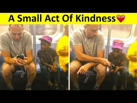 💕Acts Of Kindness That Will Restore Your Faith In Humanity💕