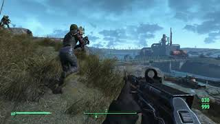 Fallout 4: Brotherhood Squire meets Disciples