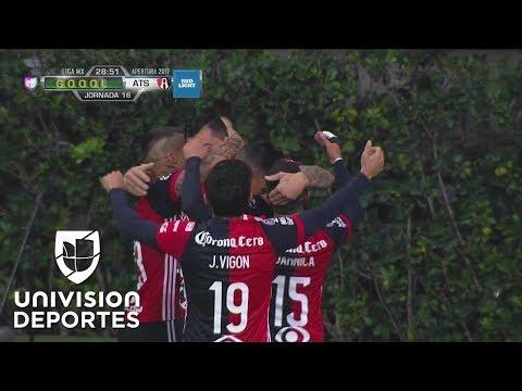 ¡GOL! Milton Caraglio   Chivas 0-1 Atlas