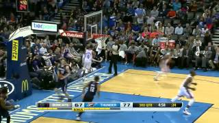Charlotte Bobcats vs Oklahoma City Thunder | March 2, 2014 | NBA 2013-14 Season