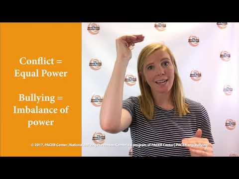 Bullying and Conflict – What's the Difference? | PACERTalks About Bullying