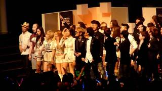 111129 MAMA 2011 SNSD - BEAST - Dance During Dr Dre & Snoop Dogs