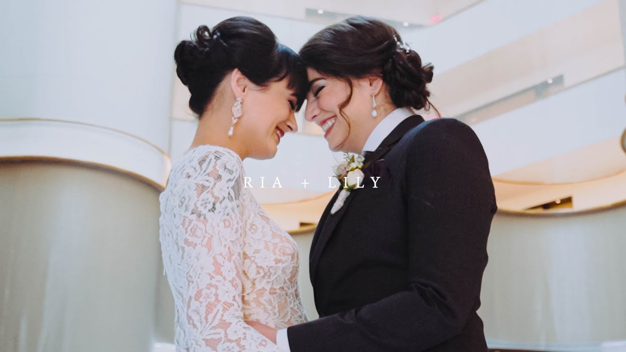 Ria + Lily | The Showroom, Washington, D.C. | Wedding Film